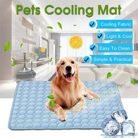 Pet Summer Cooling Pad for Dogs and Cats, Accessories, Cat, Cooling, Dog, Gift