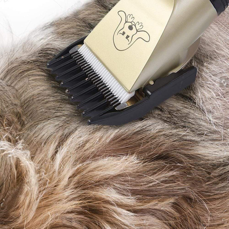 Rechargeable Low Noise Dog Hair Trimmer - Easy way Dog Grooming