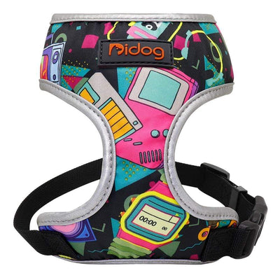 Retro Dog Harness for Small Dog Refective Breatheable