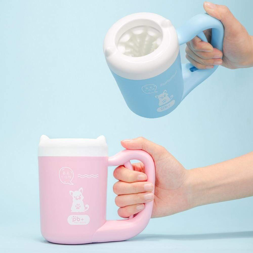 Silicon Dog Paw Cleaner Cup