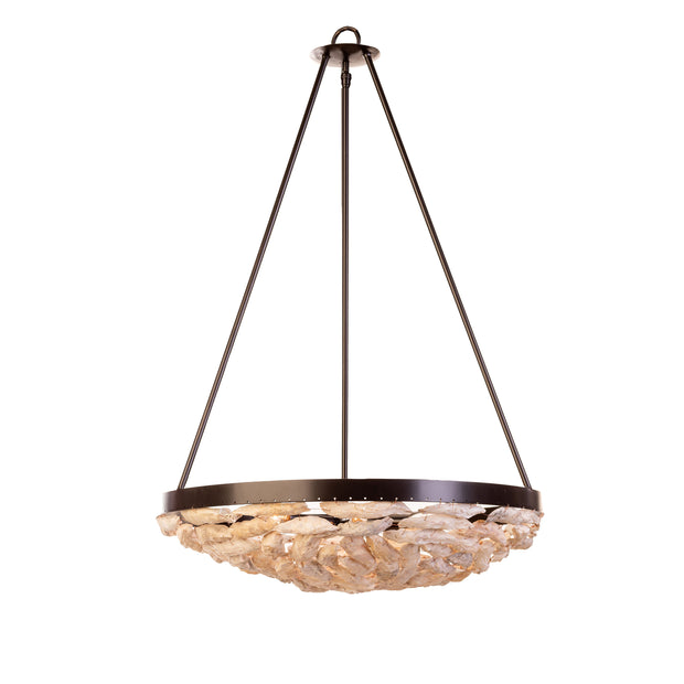 SHELL BOWL CHANDELIER