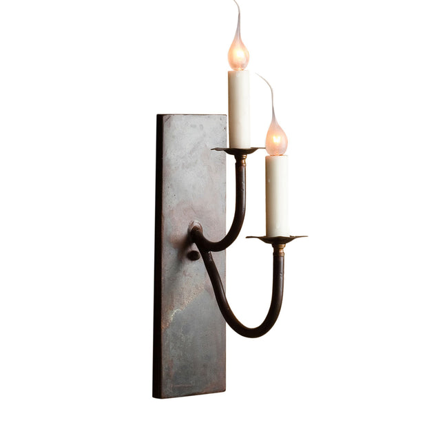 STACKED DOUBLE SCONCE