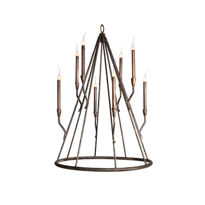 TEEPEE CONE CHANDELIER