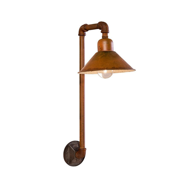 PIPE & SHADE SCONCE