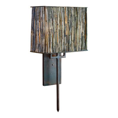 MARSH REED DOUBLE SCONCE