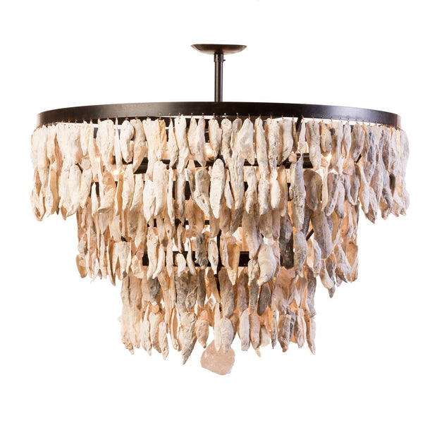 THREE TIER SHELL CHANDELIER