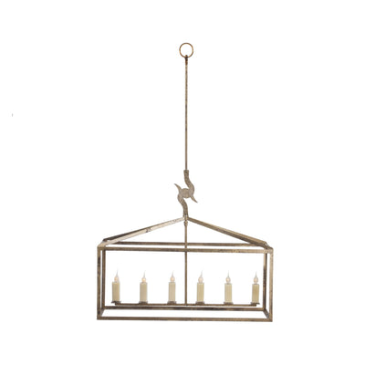 ELONGATED BOX HART CHANDELIER