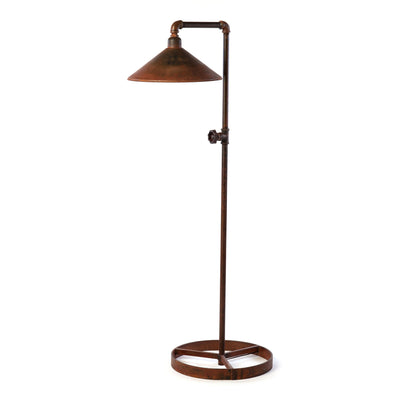 PIPE AND SHADE FLOOR LAMP