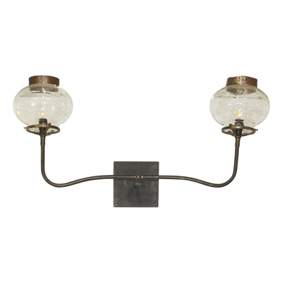 2 LIGHT GAS REPLICA SCONCE