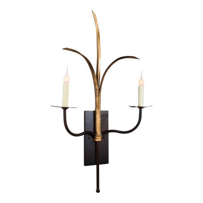 DOUBLE GRANDE MARSH GRASS SCONCE