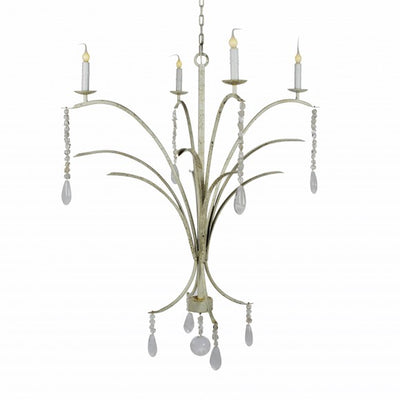 C SHAPE MARSH GRASS CHANDELIER