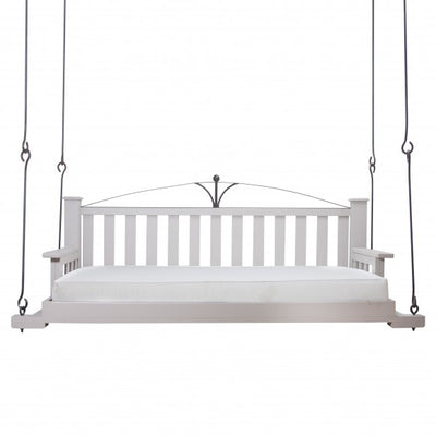 BED SWING WITH DECORATIVE ARCH