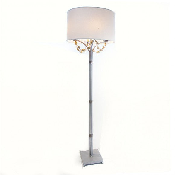 CANDELABRA FLOOR LAMP WITH SHADE