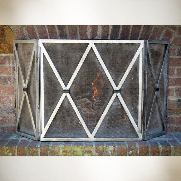 X DESIGN FIREPLACE SCREEN