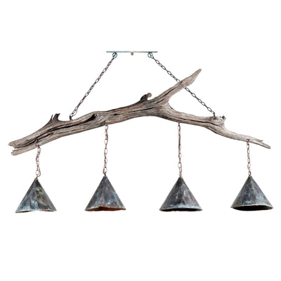 DRIFTWOOD 4 LIGHT CHANDELIER