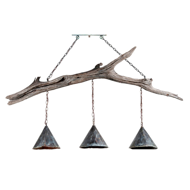 DRIFTWOOD 3 LIGHT CHANDELIER