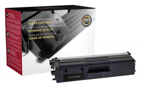 Clover Technologies Group, LLC Extra High Yield Black Toner Cartridge for Brother TN436BK