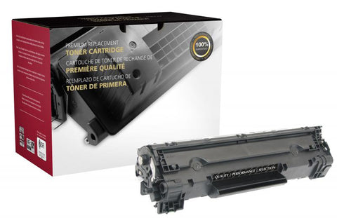 Clover Technologies Group, LLC Compatible High Yield Toner Cartridge for HP CF283X (HP 83X)