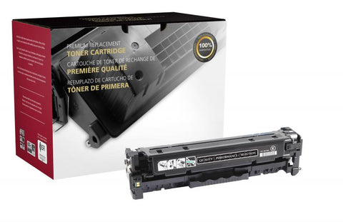Clover Technologies Group, LLC Compatible High Yield Black Toner Cartridge for HP CF380X (HP 312X)