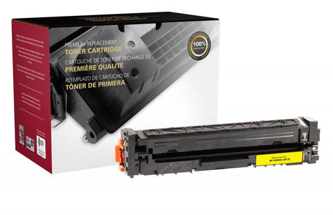 Clover Technologies Group, LLC Remanufactured High Yield Yellow Toner Cartridge (Alternative for HP CF402X 201X) (2300 Yield)