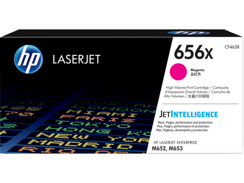 HP HP 656X (CF463X) High Yield Magenta Original LaserJet Toner Cartridge (22000 Yield)
