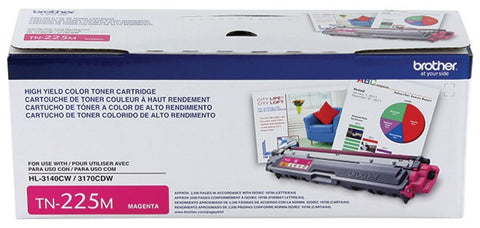 Brother High Yield Magenta Toner Cartridge (2200 Yield)