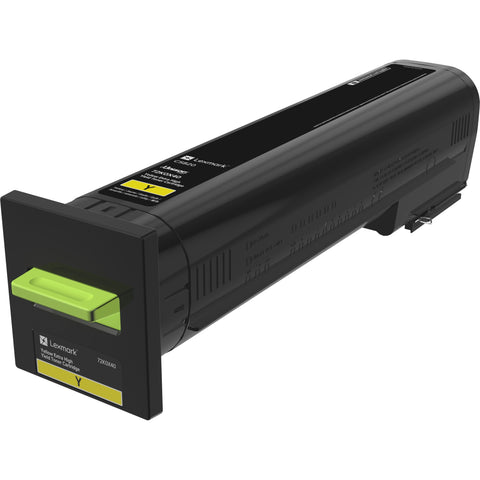 Lexmark CS820 Yellow Extra High Yield Toner Cartridge