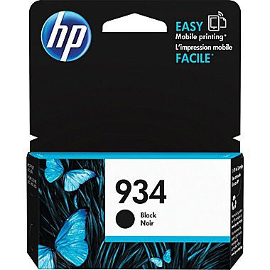 HP 934 (C2P19AN) Black Original Ink Cartridge (400 Yield)
