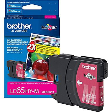 Brother LC65HYMS Magenta High Yield Inkjet Cartridge