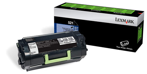 Lexmark Black Toner Cartridge (Yield 21000)