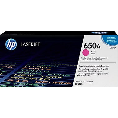 HP HP 650A (CE273A) Magenta Original LaserJet Toner Cartridge (15000 Yield)