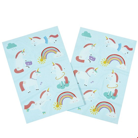 Magical Unicorn Temporary Tattoos (2 Sheets) - Meli & Ro | Kids Activity Packs
