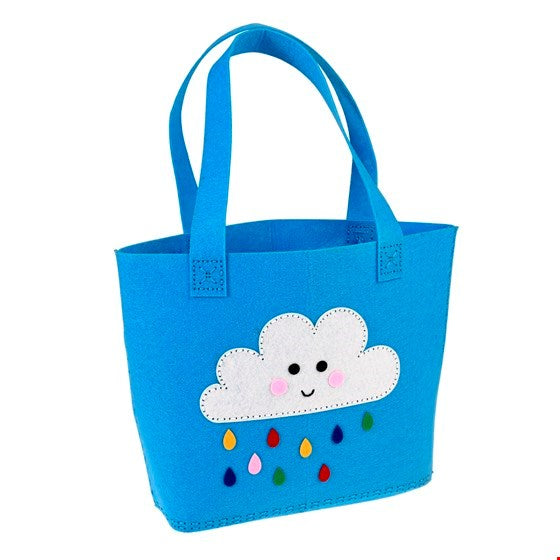 Sew Your Own Happy Cloud Tote Bag - Meli & Ro | Kids Activity Packs