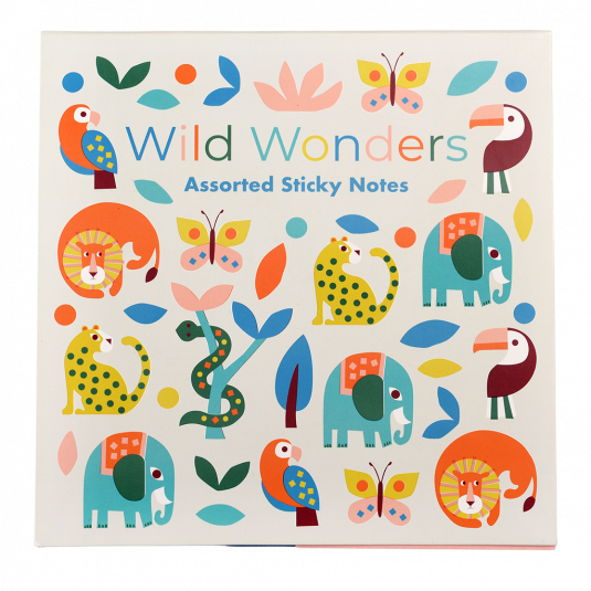 Wild Wonders Sticky Notes - Meli & Ro | Kids Activity Packs