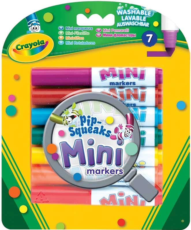 Crayola Mini Markers - Meli & Ro | Kids Activity Packs