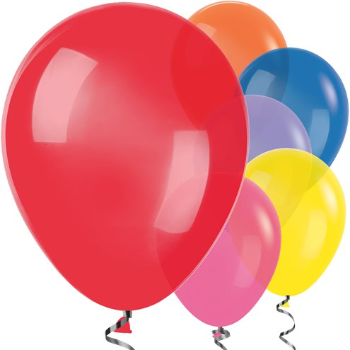"50 x Multi-coloured Balloons - 12"" Latex Balloons - Meli & Ro 