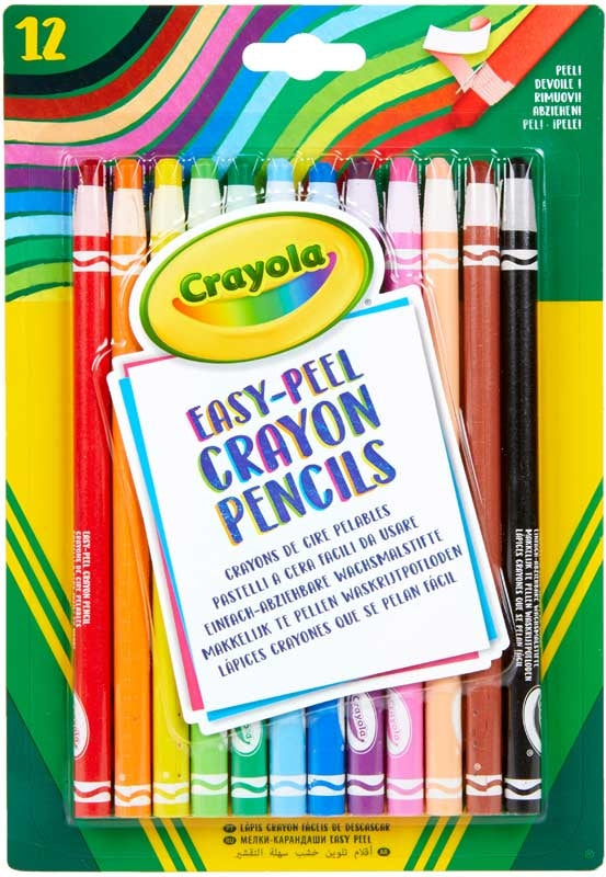 Easy-Peel Crayon Pencils - Meli & Ro | Kids Activity Packs