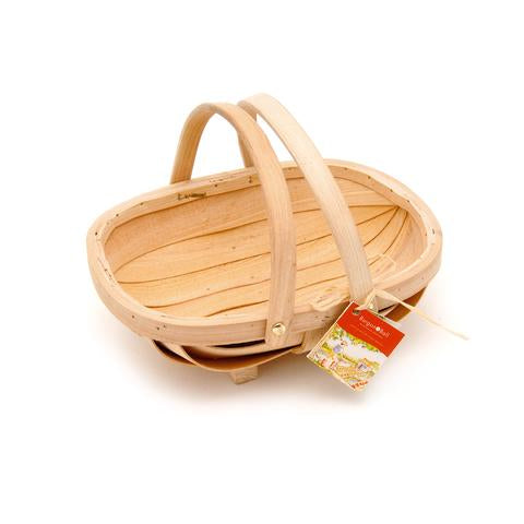 Children's Natural Wooden Trug Basket - Meli & Ro | Kids Activity Packs