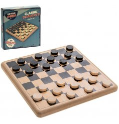 Retro Games -Children's  Draughts Set - Meli & Ro | Kids Activity Packs