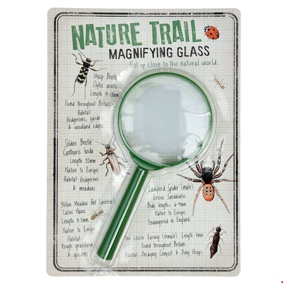 Nature Trail Magnifying Glass | Kids Activity Pack- Meli & Ro
