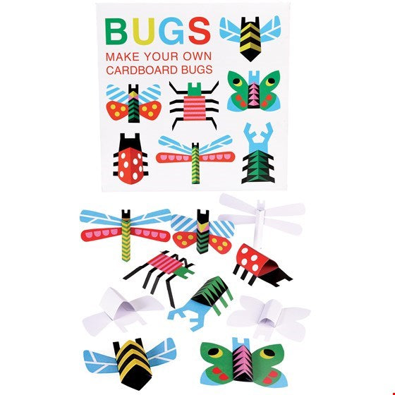 Make Your Own Cardboard Bugs | Kids Activity Pack- Meli & Ro