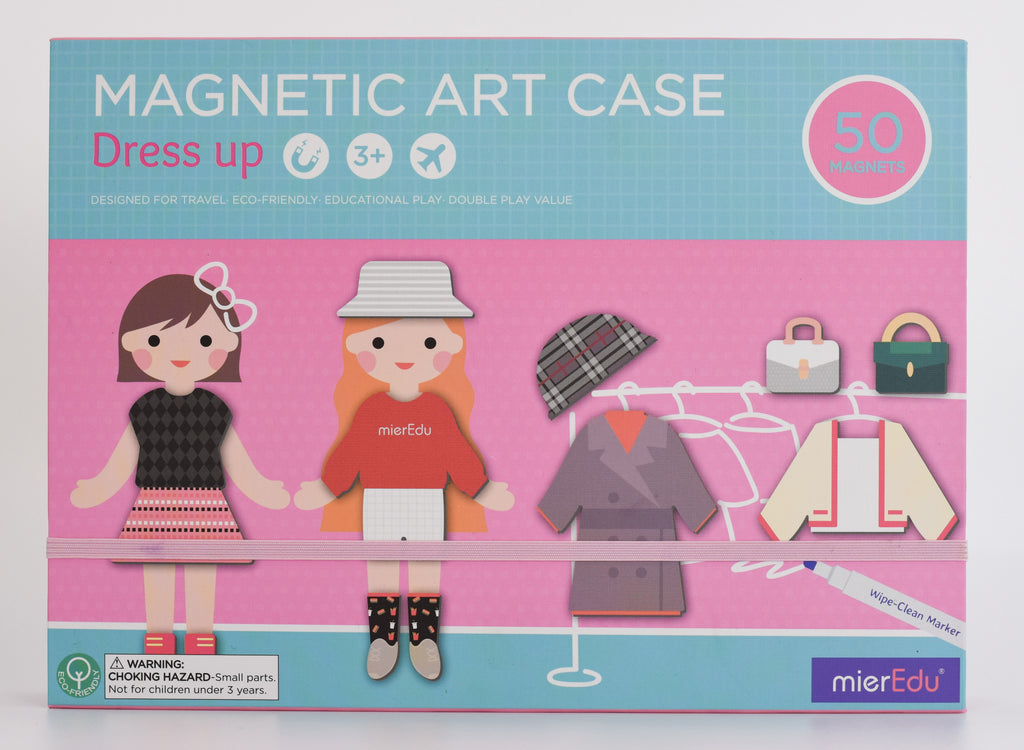 Children's Dress up Activity Set - Magnetic Art Case - Meli & Ro | Kids Activity Packs