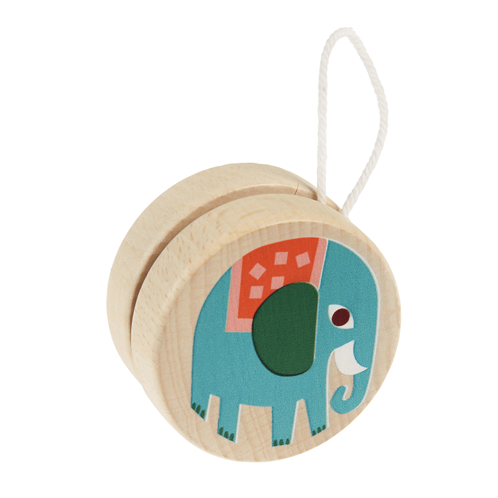 Wild Wonders Wooden Yoyo - Meli & Ro | Kids Activity Packs