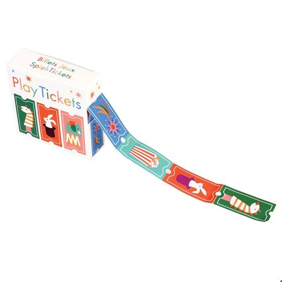 Roll Of Play Tickets - Meli & Ro | Kids Activity Packs