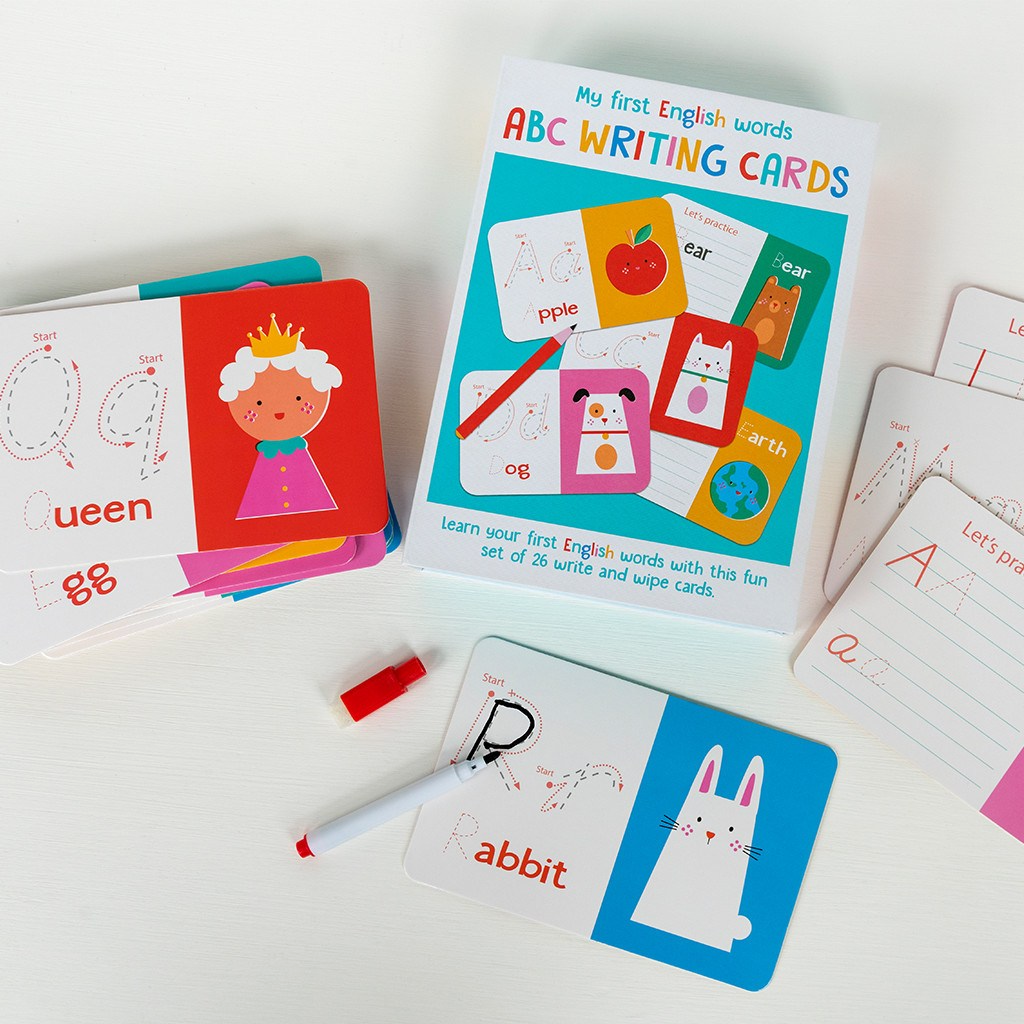 Abc Learning Cards - Meli & Ro | Kids Activity Packs