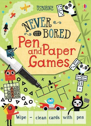 Pen and Paper Games - Never Get Bored Cards - Meli & Ro | Kids Activity Packs
