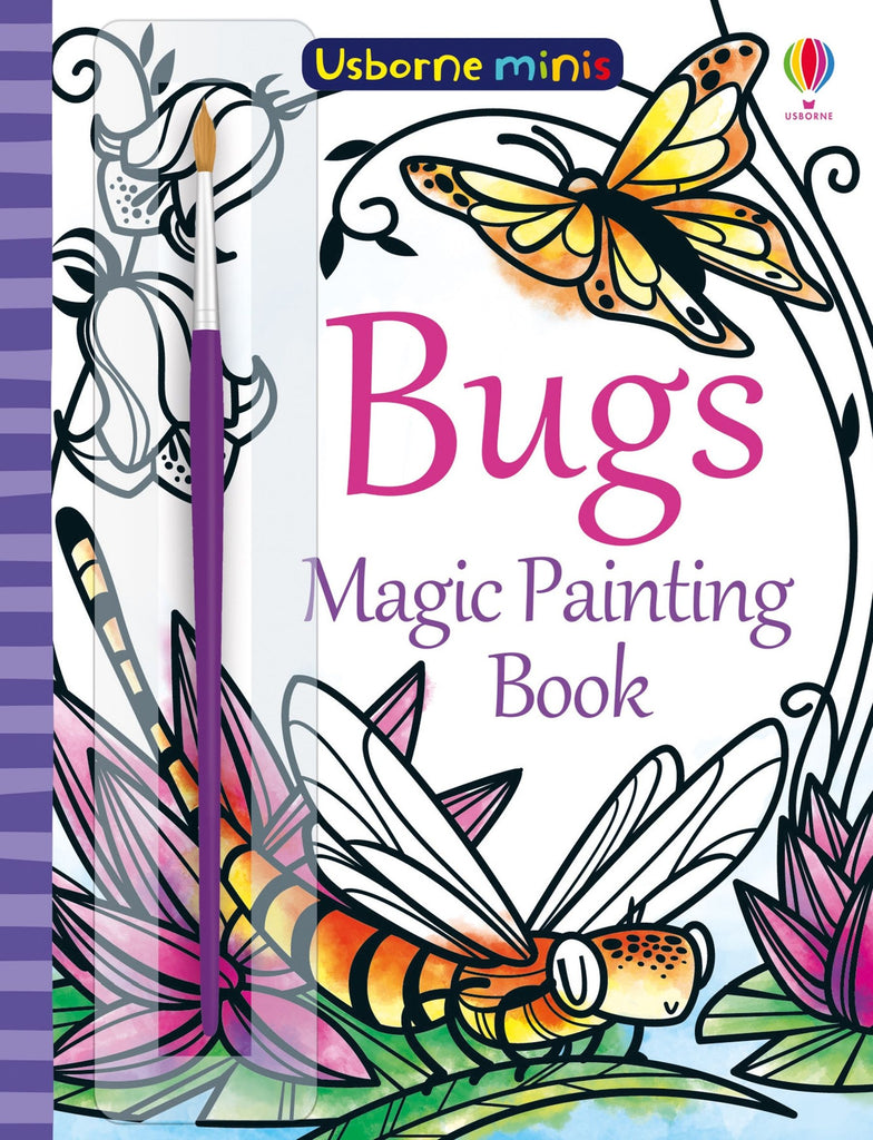 Bugs Magic Painting Book - Meli & Ro | Kids Activity Packs
