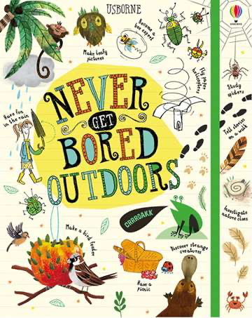 Never Get Bored Outdoors Activity book - Meli & Ro | Kids Activity Packs
