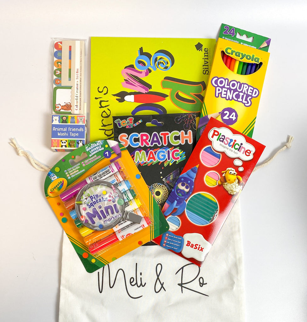 Arty Busy Bag - Meli & Ro | Kids Activity Packs
