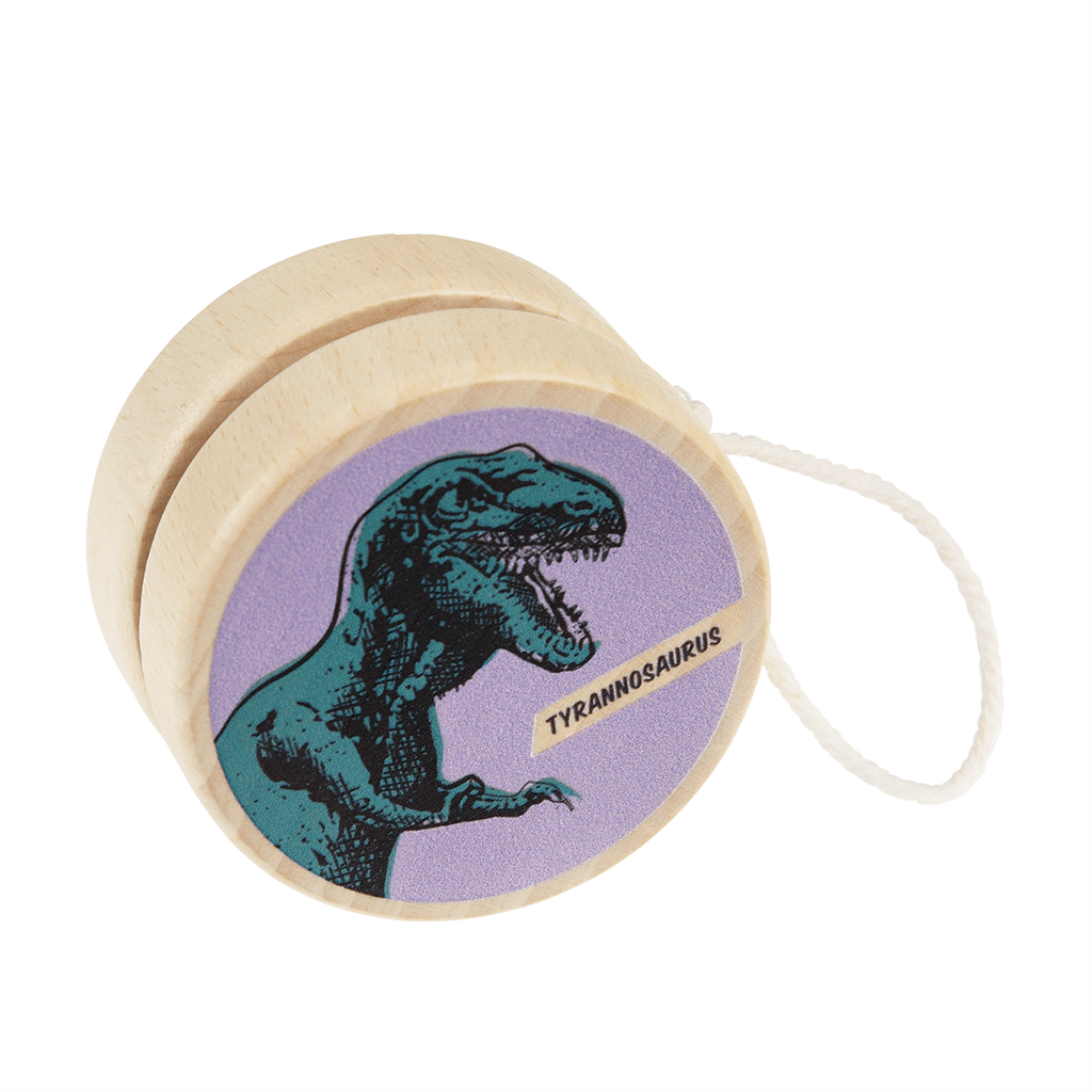 Prehistoric Land Wooden Yoyo - Meli & Ro | Kids Activity Packs